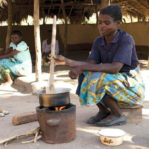 Charity Christmas gift for Africa eco cooking stove