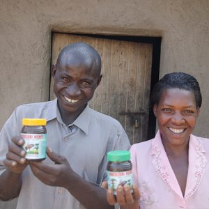 Charity Christmas gift for Africa Beehive and bees