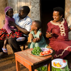 Charity Christmas gift for Africa Feed a Family